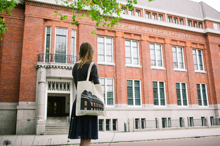 Erasmus University College bag by WUUDY